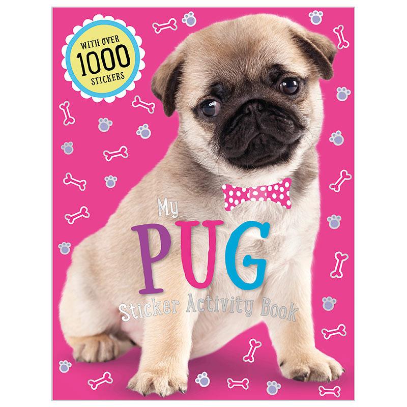 First Spread of My Pug Sticker Activity Book (9781785986666)