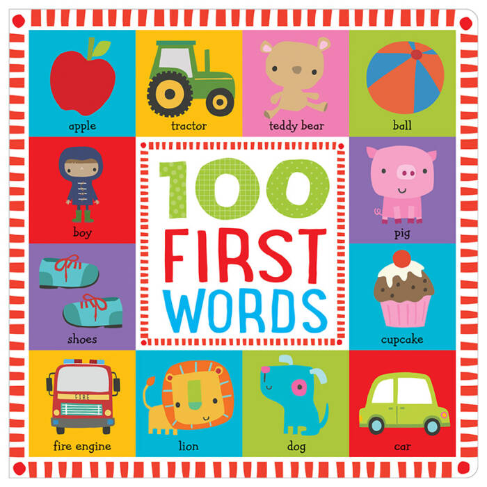 First Spread of 100 First Words (9781786922557)