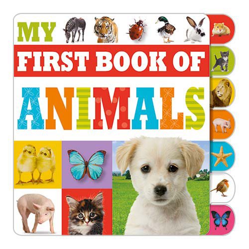 First Spread of My First Book of Animals (9781783934027)