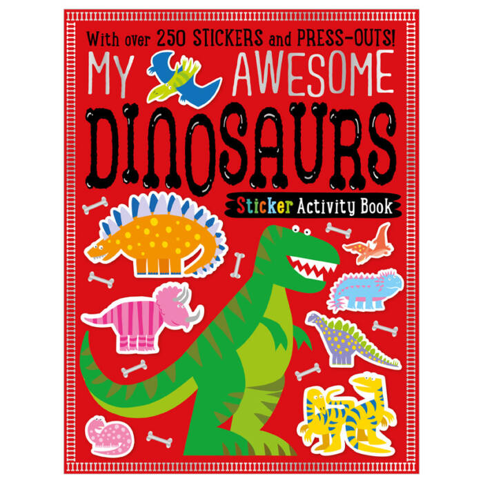 First Spread of My Awesome Dinosaurs (9781785989391)