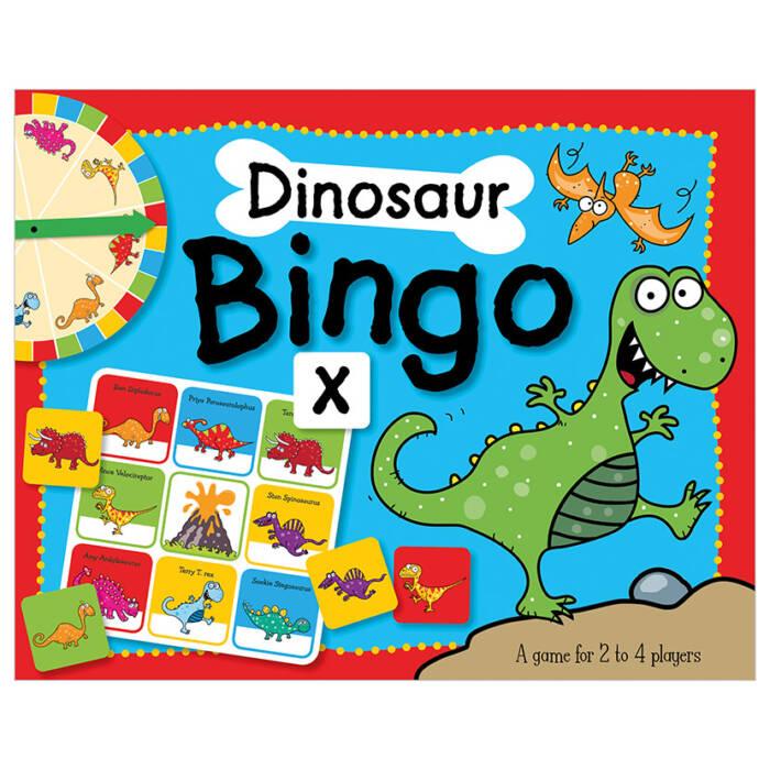 First Spread of Dinosaur Bingo (9781783932245)