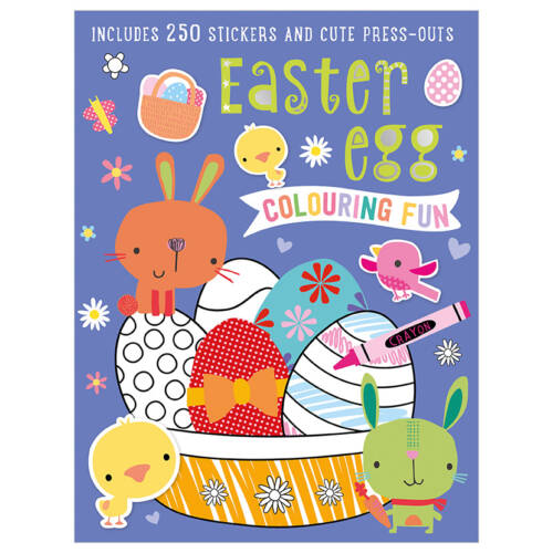 First Spread of Easter Egg Colouring Fun (9781786929716)