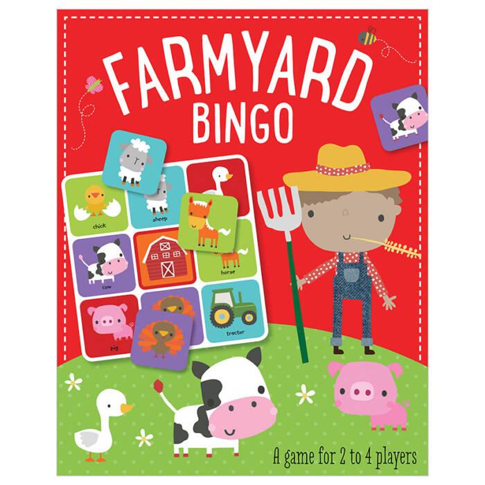 First Spread of Farmyard Bingo (5060236480675)