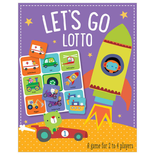 First Spread of Let's Go Lotto (5060236481788)