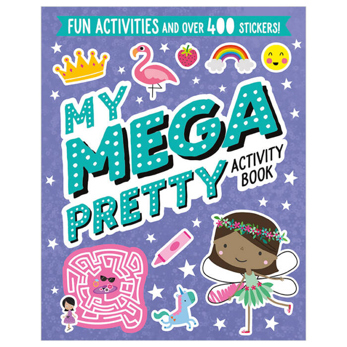 First Spread of My Mega Pretty Activity Book (9781789472806)