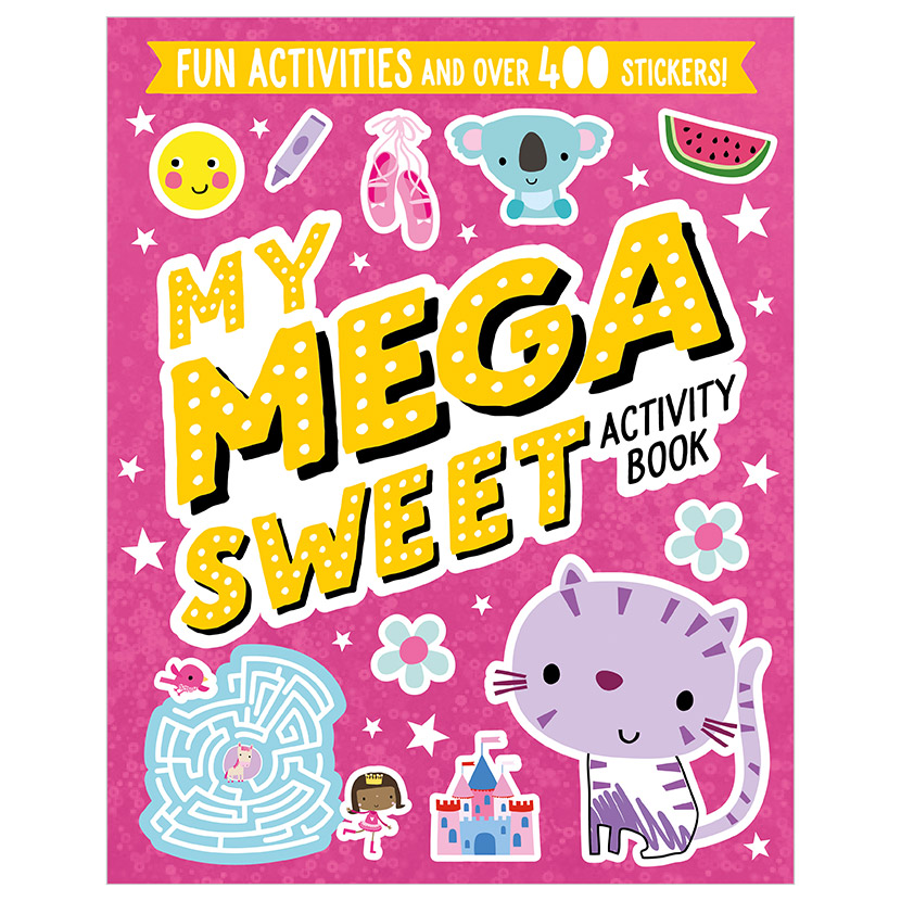 First Spread of My Mega Sweet Activity Book (9781789472813)