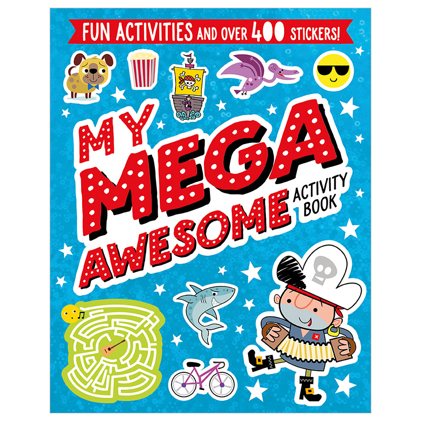 First Spread of My Mega Awesome Activity Book (9781789472820)