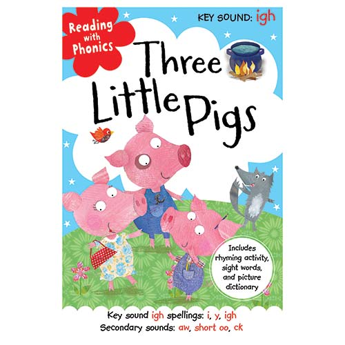 First Spread of Three Little Pigs (9781782356233)