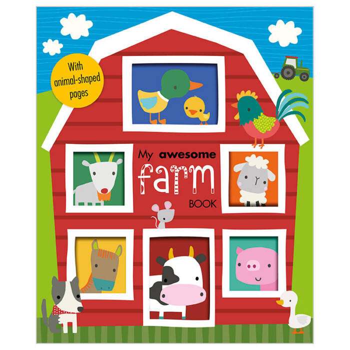 First Spread of My Awesome Farm Book (9781785985096)