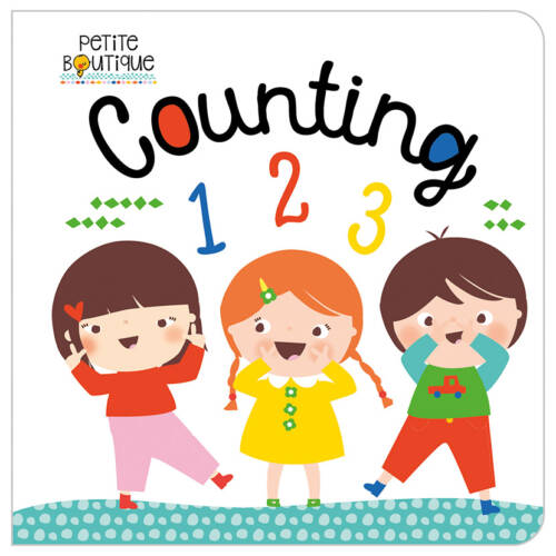 First Spread of Petite Boutique Counting 123 (9781786925091)