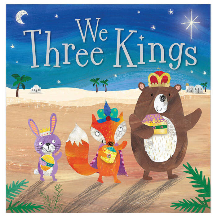 First Spread of We Three Kings (9781785984624)