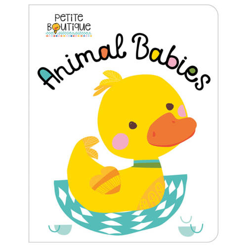 First Spread of Petite Boutique Animal Babies (9781786926586)