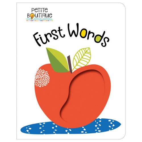 First Spread of Petite Boutique First Words (9781786926579)