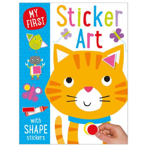 First Spread of My First Sticker Art (9781785981180)
