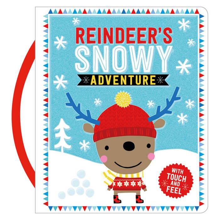 First Spread of Reindeer's Snowy Adventure (9781785984600)