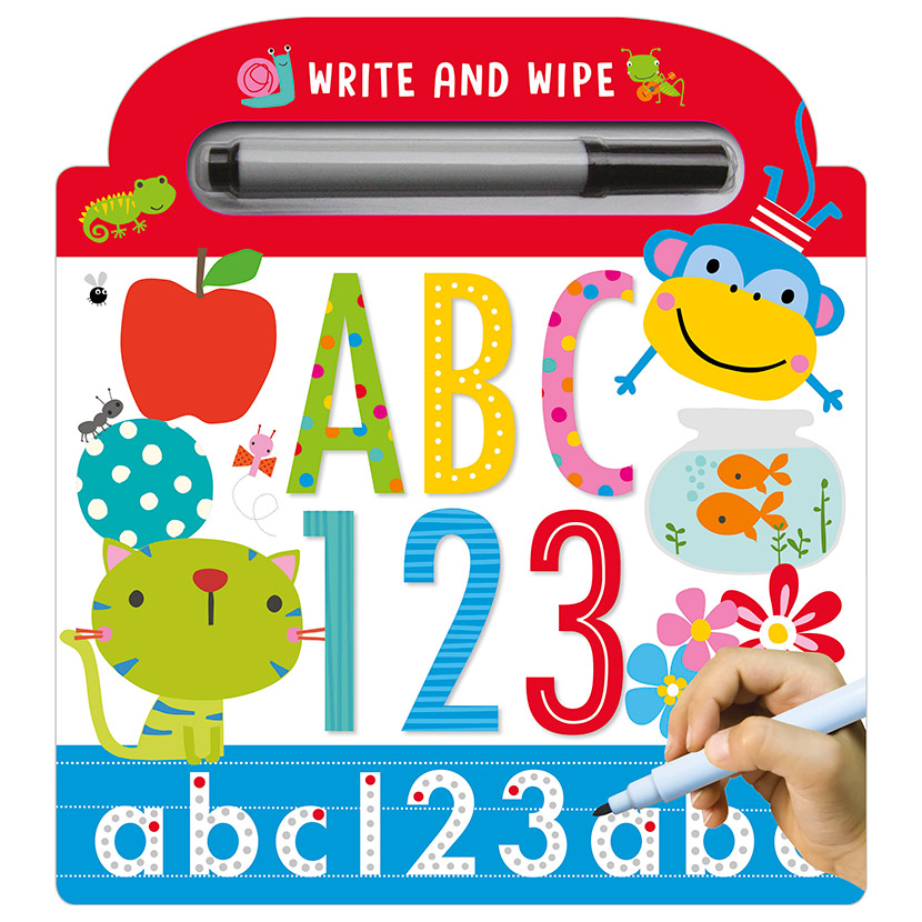 First Spread of ABC 123 (9781786929525)