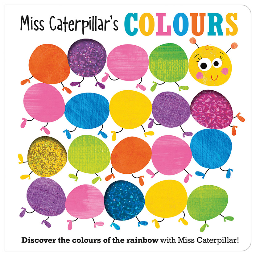 First Spread of Miss Caterpillar's Colours (9781789470680)