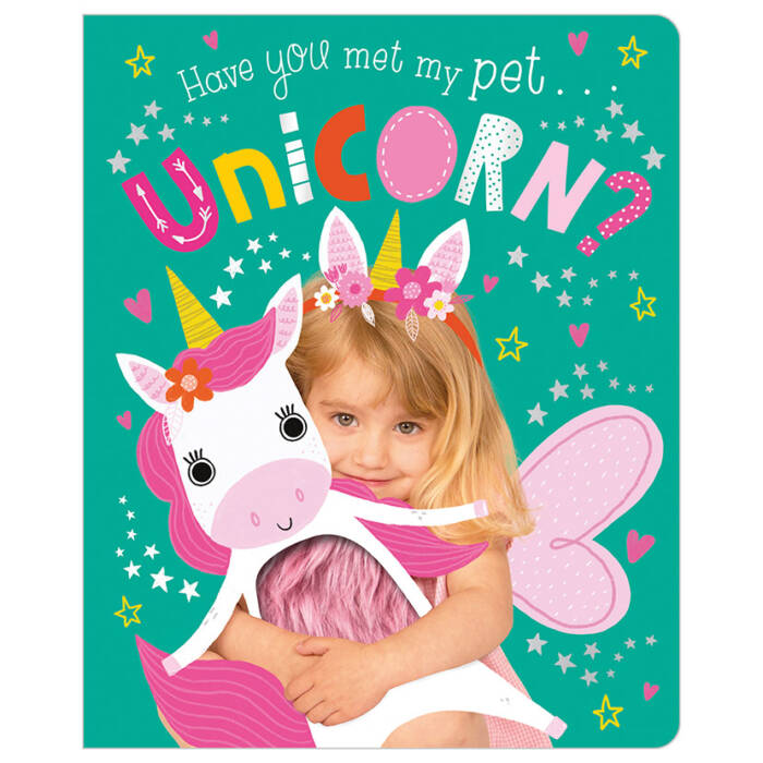 First Spread of Have You Met My Pet Unicorn? (9781789471939)