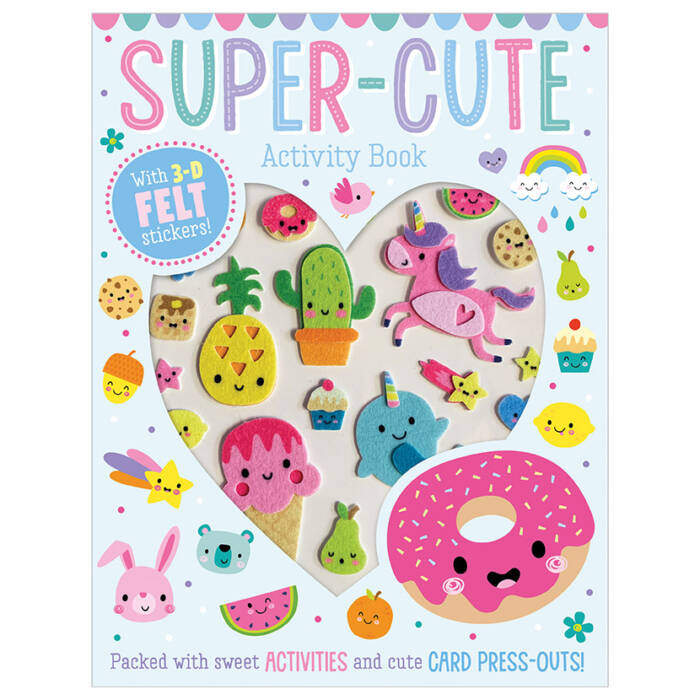 First Spread of Super-Cute Activity Book (9781789474121)