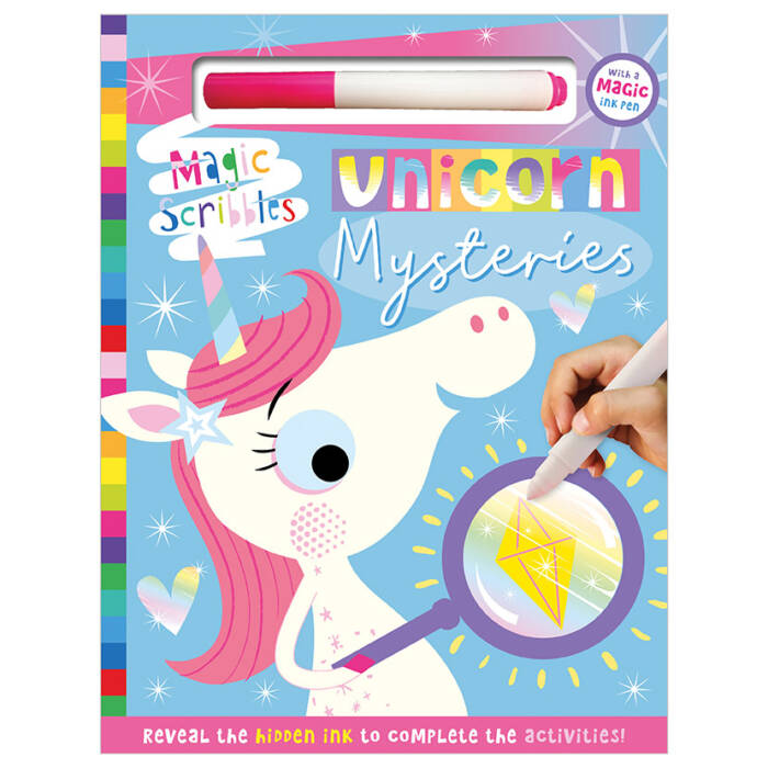 First Spread of Unicorn Mysteries (9781789474138)