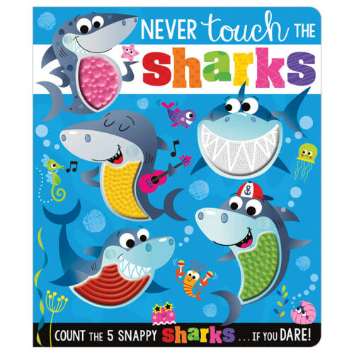 First Spread of Never Touch the Sharks! (9781789472714)
