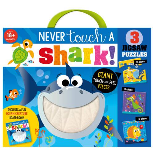 First Spread of Never Touch a Shark Jigsaw (9781800582361)