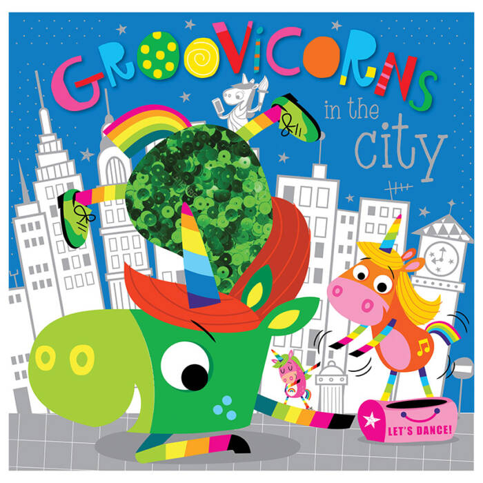 First Spread of Groovicorns in the City (9781789474053)