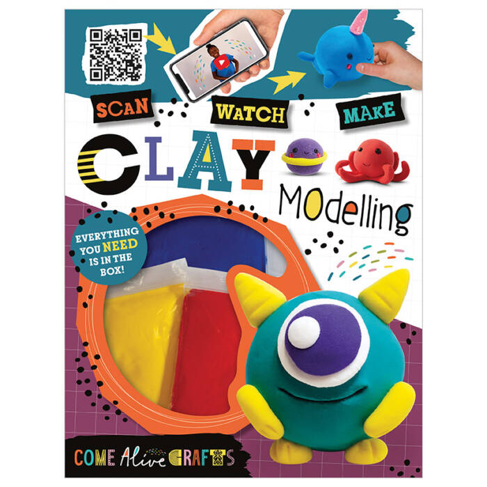 First Spread of Come Alive Clay Modelling (9781789474176)