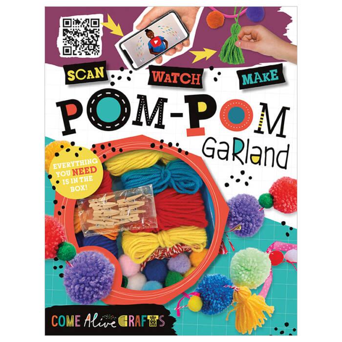 First Spread of Come Alive Pom-Pom Garland (9781789474169)