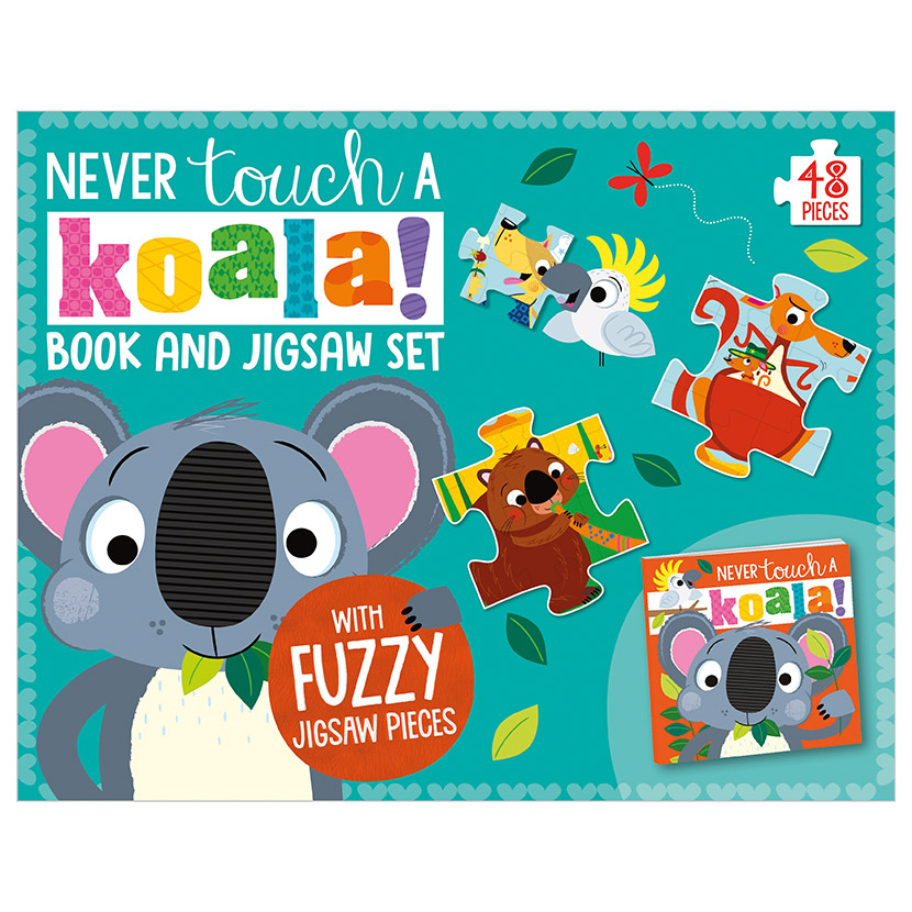 First Spread of Never Touch a Koala! (9781789478914)