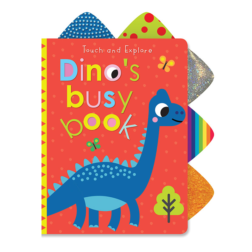 First Spread of Touch and Explore Dino's Busy Book (9781789476071)