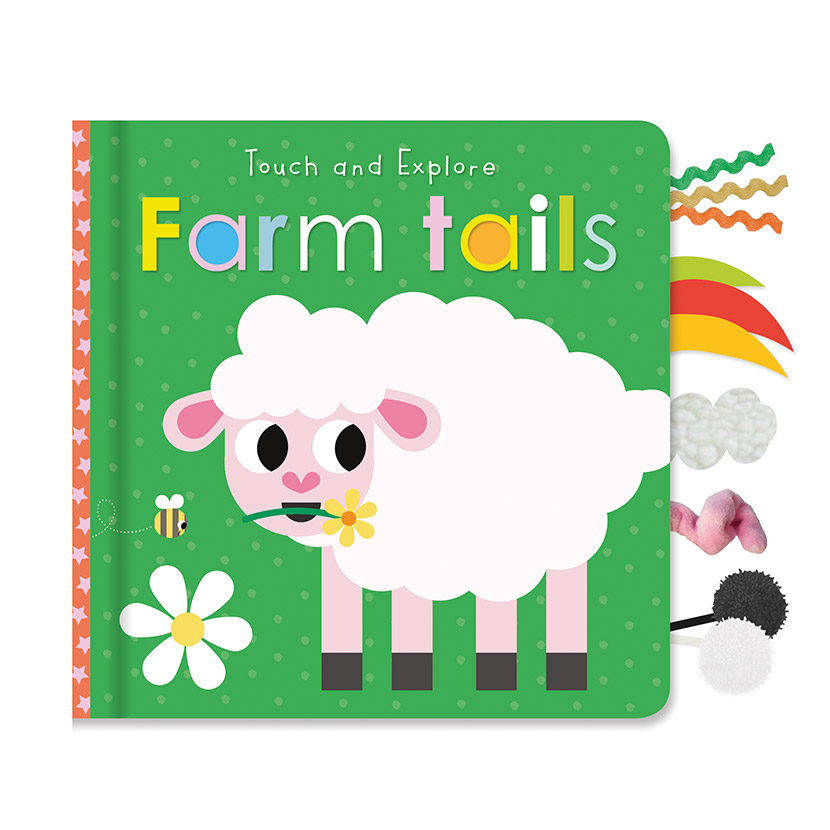 First Spread of Touch and Explore Farm Tails (9781789476057)