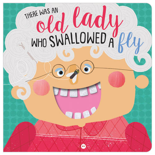 First Spread of There Was an Old Lady Who Swallowed a Fly (9781789472745)