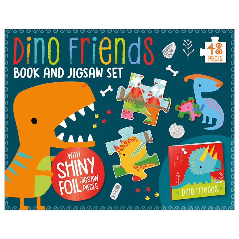 First Spread of Dino Friends (9781789478921)