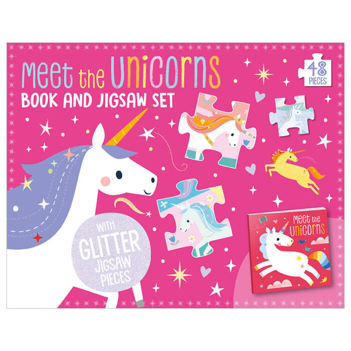 First Spread of Meet the Unicorns (9781789478938)