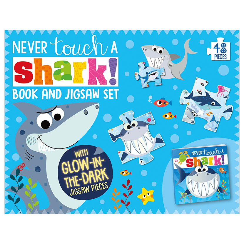 First Spread of Never Touch a Shark! (9781789478945)