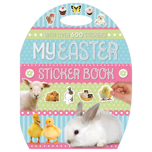 First Spread of My Easter Sticker Book (9781786924636)