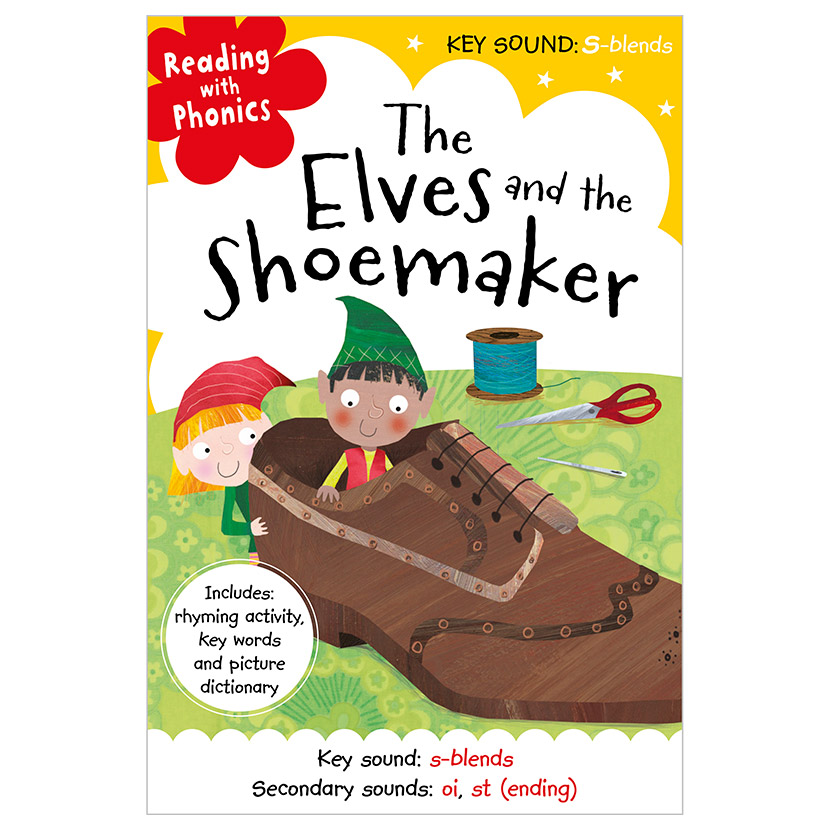 First Spread of The Elves and the Shoemaker (9781786922991)