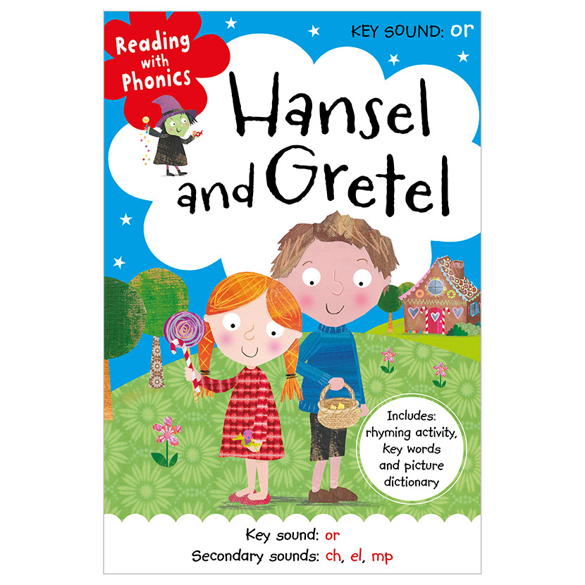 First Spread of Hansel and Gretel (9781786922915)
