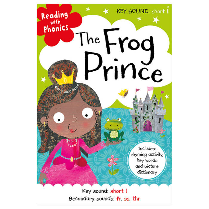 First Spread of The Frog Prince (9781786922922)