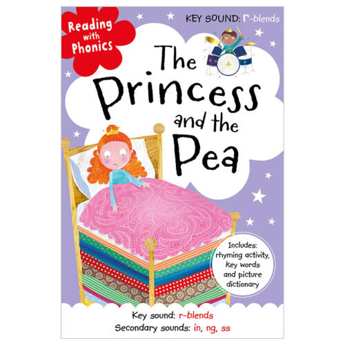 First Spread of The Princess and the Pea (9781786922960)