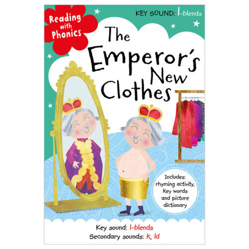 First Spread of The Emperor's New Clothes (9781786922977)