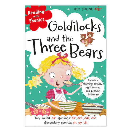 First Spread of Goldilocks and the Three Bears (9781782356158)
