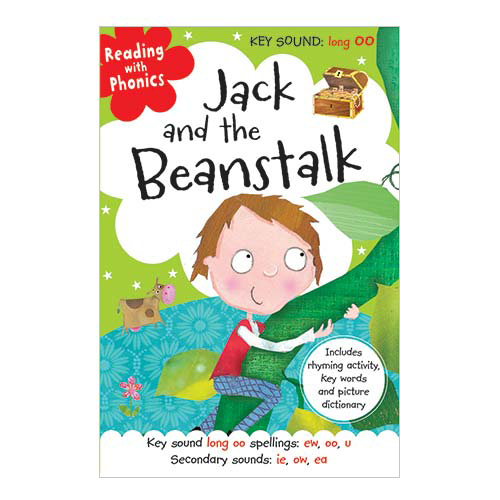 First Spread of Jack and the Beanstalk (9781782356165)