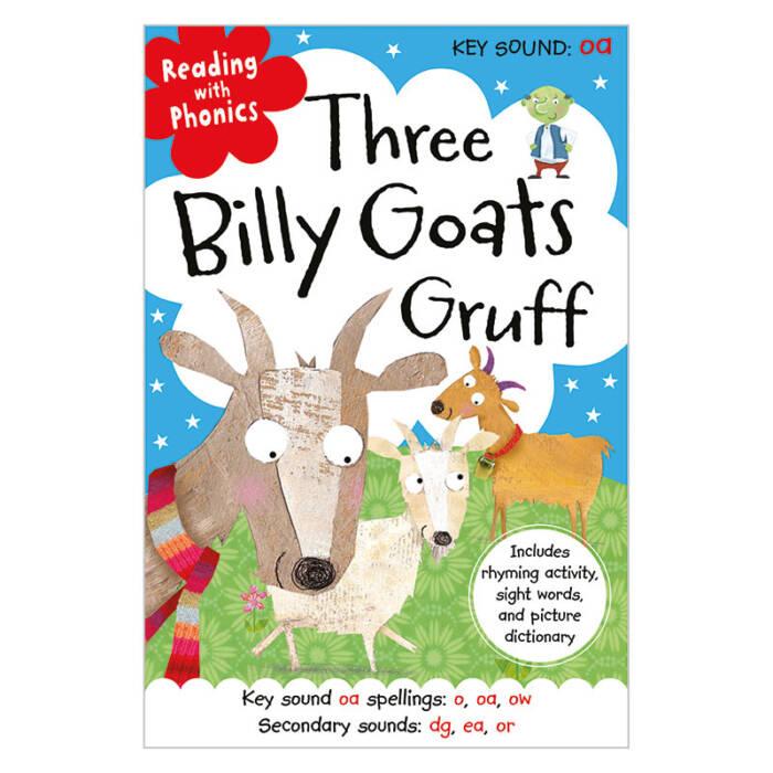 First Spread of Three Billy Goats Gruff (9781782356240)