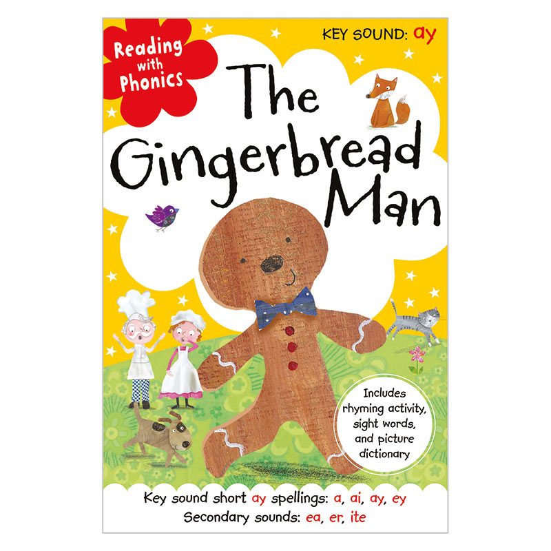 First Spread of The Gingerbread Man (9781782356219)