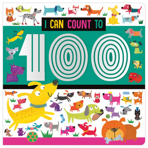 First Spread of I Can Count to 100 (9781789474565)