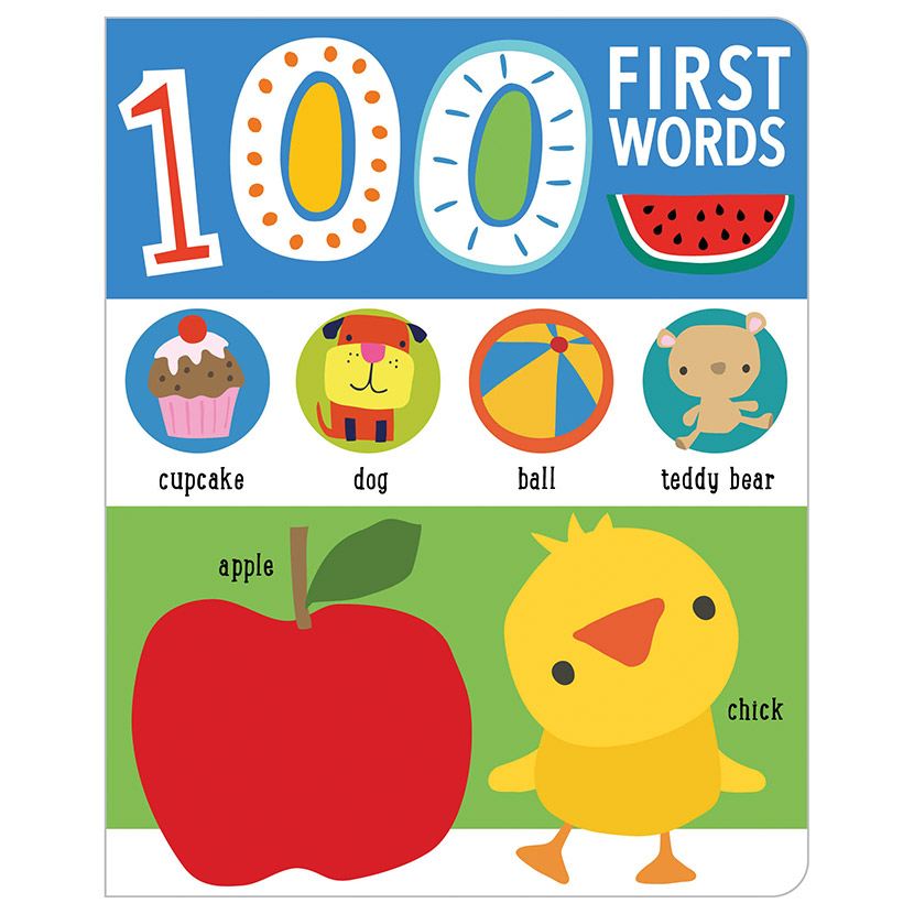 First Spread of First 100 Words (9781789474589)