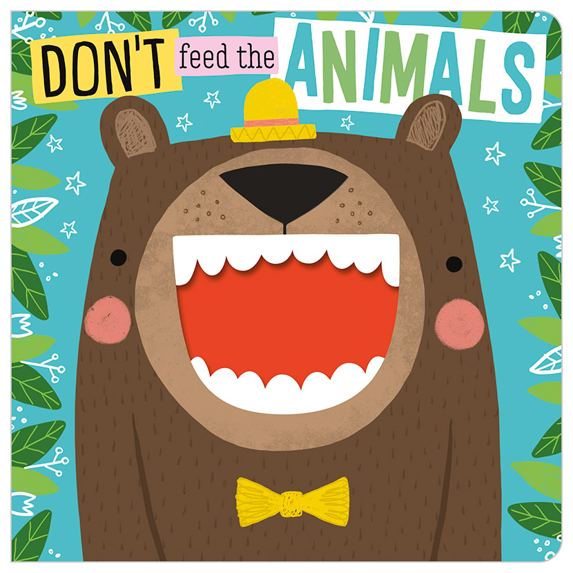 First Spread of Don't Feed the Animals (9781789474640)