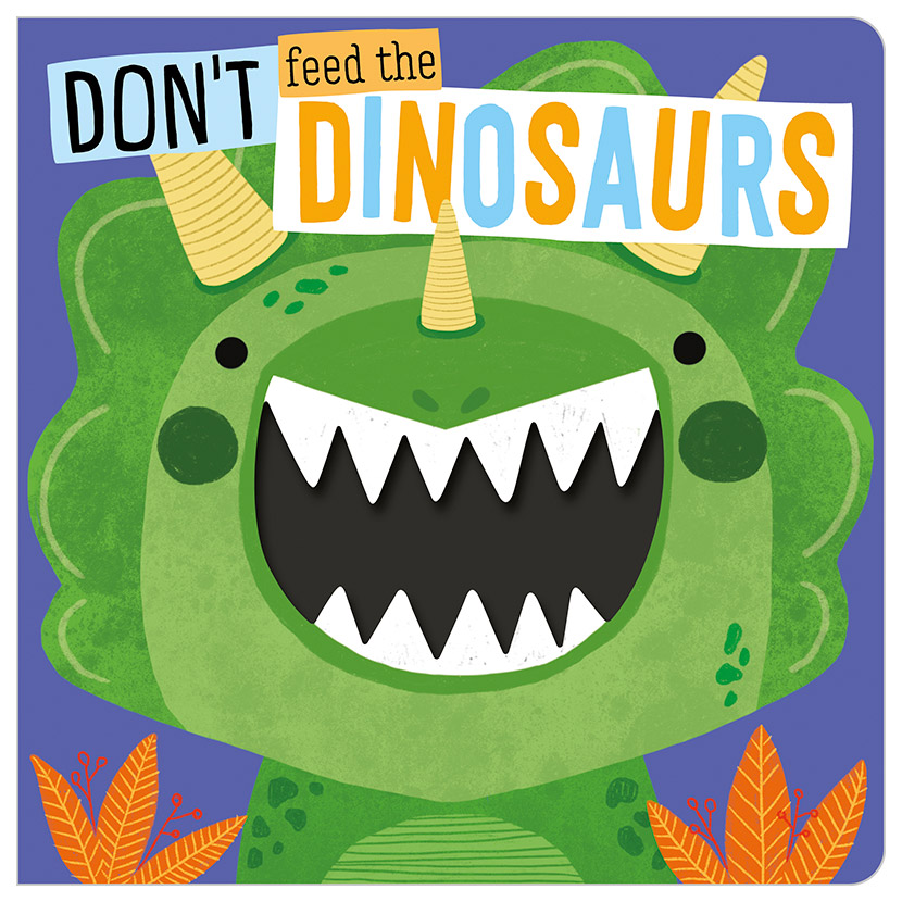 First Spread of Don't Feed the Dinosaurs (9781789474657)